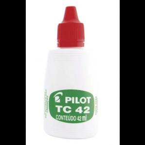TINTA PARA CARIMBO TC 42 VERMELHO PILOT