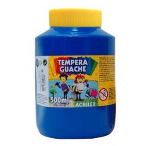 TINTA GUACHE 500ML ACRILEX 559 AZUL
