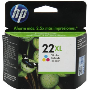 CARTUCHO HP 22XL COLORIDO