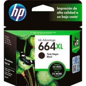 CARTUCHO HP 664XL PRETO