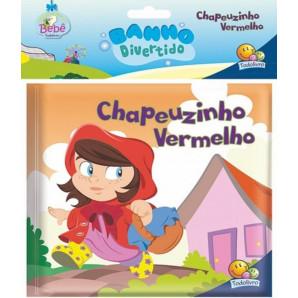 LIVRO DE HISTÓRIA INFANTIL PLÁSTICO CHAPEUZINHO VERMELHO