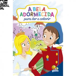 CLÁSSICOS PARA LER E COLORIR TODOLIVRO A BELA ADORMECIDA
