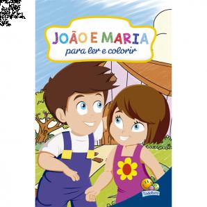 CLÁSSICOS PARA LER E COLORIR TODOLIVRO JOÃO E MARIA