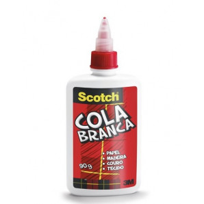 COLA BRANCA SCOTCH 3M 90G