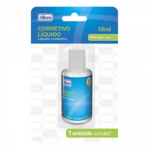 CORRETIVO LÍQUIDO TILIBRA 18ML