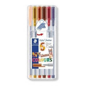 CANETA STAEDTLER TRIPLUS FINELINER MY LHAMA COLOURS 0.3 MM