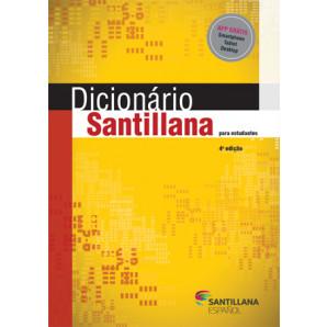 DICIONÁRIO SANTILLANA PARA ESTUDANTES ESPANHOL