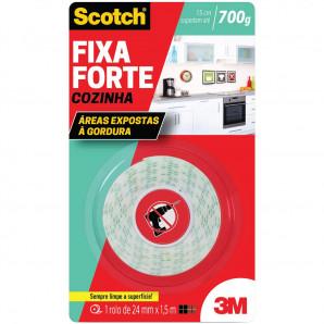 FITA FIXA FORTE SCOTCH 3M 24X1,5 COZINHA