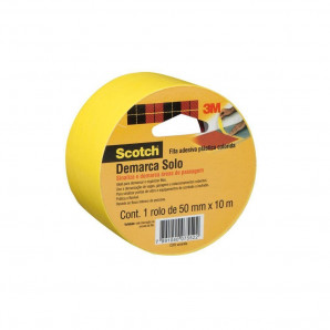 FITA DEMARCA SOLO SCOTCH 3M AMARELO