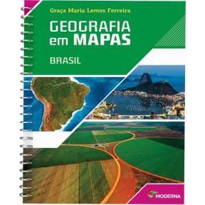 GEO EM MAPAS BRASIL ED5-MODERNA