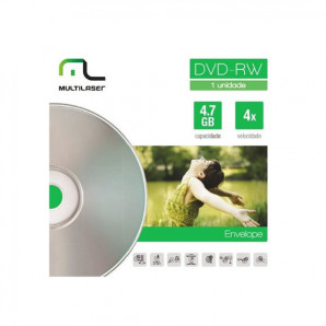 DVD-RW REGRAVÁVEL MULTILASER