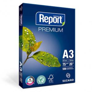 PAPEL REPORT PREMIUM BRANCO A3 75G