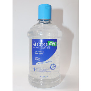 ÁLCOOL GEL ANTISSÉPTICO 500ML REGATA