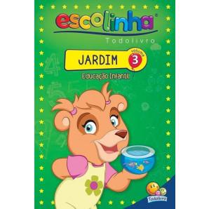 ESCOLINHA TODOLIVRO JARDIM VOLUME 3