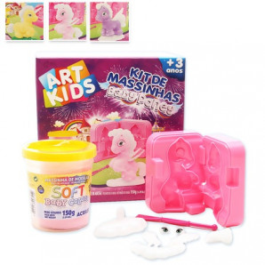 KIT DE MASSINHAS DE MODELAR ART KIDS BABY PONEY ACRILEX