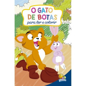 CLÁSSICOS PARA LER E COLORIR TODOLIVRO O GATO DE BOTAS