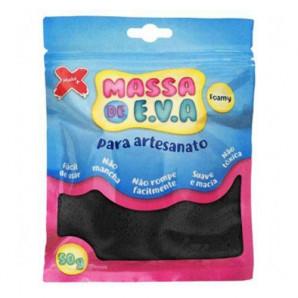 MASSA DE EVA ARTESANATO PRETO 50G
