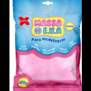 MASSA DE EVA ARTESANATO ROSA BEBÊ 250G