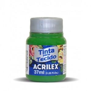 TINTA PARA TECIDO 37ML ACRILEX 513 VERDE MUSGO