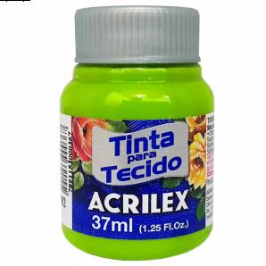 TINTA PARA TECIDO 37ML ACRILEX 802 VERDE MAÇÃ